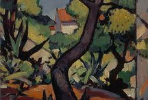 Scottish Colourists / A selection of works, available from around the internet, by the 'Scottish Colourists' – four artists renowned for their penchant for strong brushwork and vibrant tones: Francis Campbell Boileau Cadell, John Duncan Fergusson, George Leslie Hunter and Samuel John Peploe.