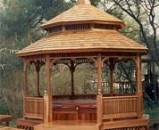GAZEBOS Garden Bridges Waterwheels / DIRECT LINKS to company websites - Gazebos - Pavilions - Garden Bridges - Waterwheels - Lighthouses