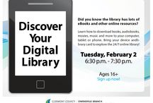 February Events 2016 / Classes, lectures, & events happening at Clermont County Public Library in February. / by Clermont County Public Library