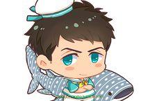 Chibi Anime Characters (≧σ≦)