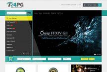 Gamer Store Website / Gamer Website design! Very Cool design!
