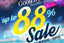 △OKDGG FAREWELL SUMMER FESTIVAL >> OKDGG 夏季欢送优惠活动 ▽ / ▶ SURPRISE OFFERS / 惊人的折扣优惠