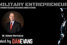 Military Entrepreneur Show / Military Entrepreneur Show | A Resource for Entrepreneurial Military Servicemembers & Veterans, Hosted by Dan Evans. Listen to the podcast: http://www.danevansonline.com/itunes