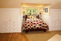 Bed in dormer