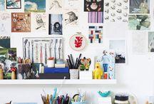 studio/working spaces / by Andreja Hotko Pavic