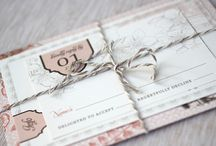Wedding - Invitations / by Sophie Giroux