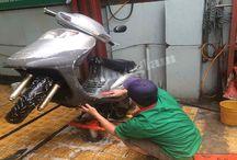 Hướng dẫn rửa xe máy