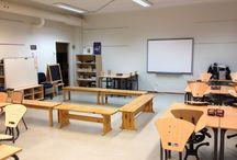 Klasserom og aktiviteter