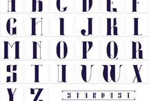 Typeface / Fontes