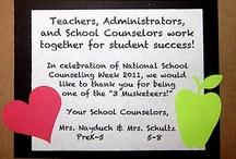 #NSCW - National School Counseling Week Ideas