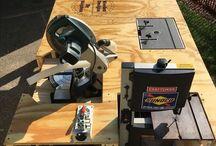 Mesa taller madera