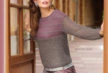 Пуловер/джемпер/свитер вязанный