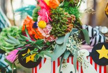 Carnival Wedding / William Levi Golden Photography Brianna Belton Design Vintage Rentals Boutique Fabulous Frocks Bridal