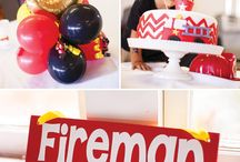 Fire Fighter Birthday Party Ideas / Do you have a little one that wants to be a Fireman? We have some great Fire Fighter Birthday Party Ideas for you! We have added our own favorite Fire Truck birthday party supplies, as well as some great ideas from across Pinterest. Plan your own super Firefighter Party today!