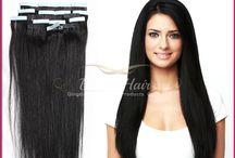 PU SKIN TAPE HAIR EXTENSION / Des PU skin hair extension !