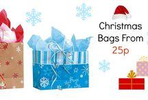 Christmas Bags / Shopping Bags