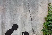 muur beschildering