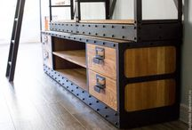 meuble style industriel
