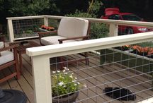 Barn Deck/ railing
