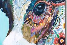 Art for the planet and the animals / vegan artworks