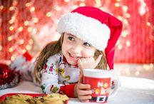 Kids Christmas Themed Photos