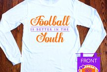 Football is better in the south / by Kaitlyn Kahley