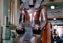 Egyptian Stone Statues