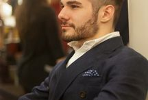 Beard styles.