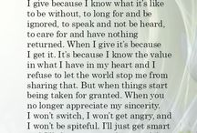 Word wise, Quotes etc.