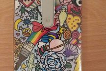 My Personal Covers / Here the covers for my mobile which is a Motorola Moto G. They are drawed by me and  my friends.