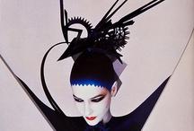 Lavish Serge Lutyens / Lustrous lovely ladies in amazing & creative makeup.