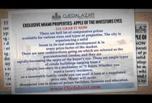 EXCLUSIVE MIAMI PROPERTIES- APPLE OF THE INVESTORS EYES / There are plenty of Miami luxury properties for sale ranging from a million to millions, exhibiting plush facilities equaling to a Hollywood mansion.  https://goo.gl/AzUPpa