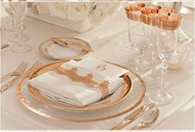 Gold and ivory decor