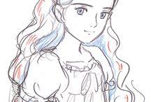 Studio Ghibli Character Design