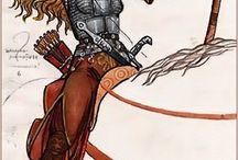 Сарматские воительницы