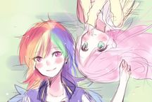Dashie and Flutter