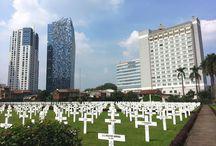 Jakarta,  kerkhof van de Oorlogsgraven  Stichting,  daar ligt mijn zus.