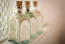 Άλατα μπάνιου - bath salts / προτάσεις για άλατα μπάνιου