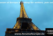 Forum of Europe January 2017 / Photo's from our articles on the website in January