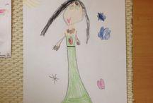 Moje umělkyně / Dětska tvorba