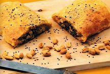 Πιτάκια με κοτόπουλο και σπανάκι / Εύκολα πιτάκια με κοτόπουλο και σπανάκι