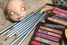Роспись лица кукол