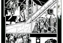 Original Comic Book Art / A collection of original published comic book art by various artists all over the world