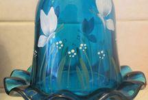 Fairy Lamps & Fenton Glass Hats