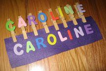 Enfants - Lettres, couleur et chiffres