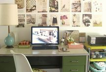 desk spaces / by Amy Benson