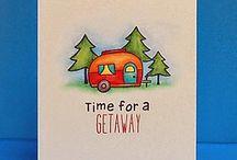 Lawn Fawn cards / by Elena Sordo
