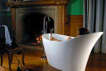 Winter, Baths, Fireplaces