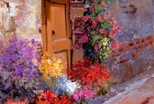 pintando con mucho color / by Edia