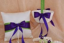 Lime and purple Dream wedding